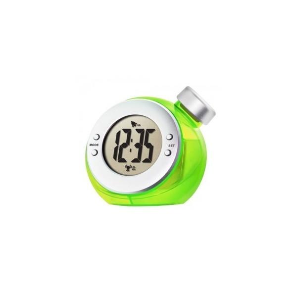Elegantní hodiny na vodu - zelené