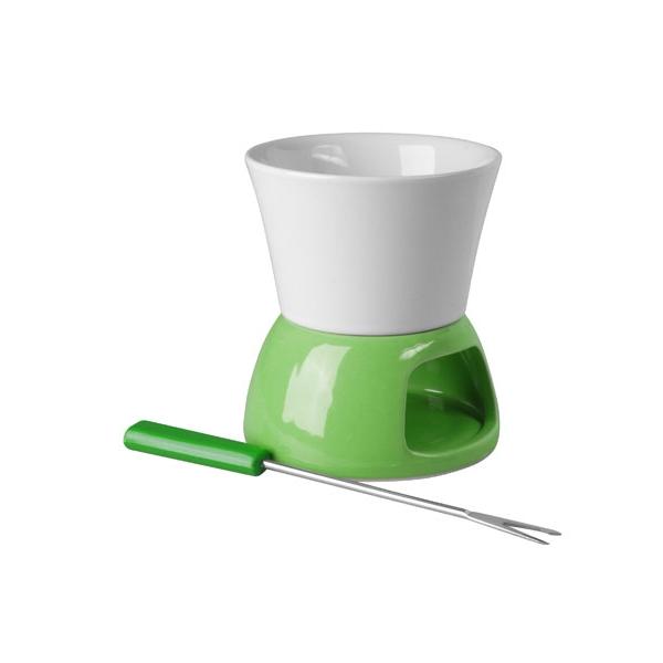 Zelené mini fondue - čoko
