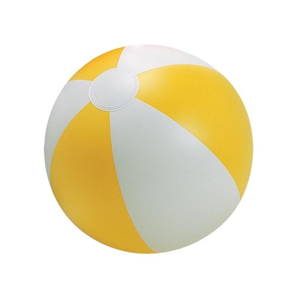 Plážový žlutý míč