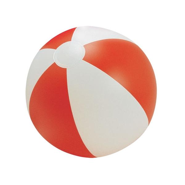 Plážový červený míč