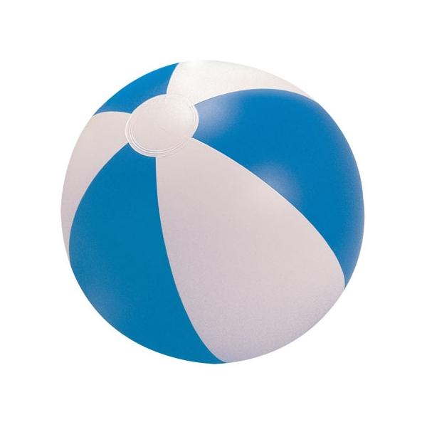 Plážový modrý míč