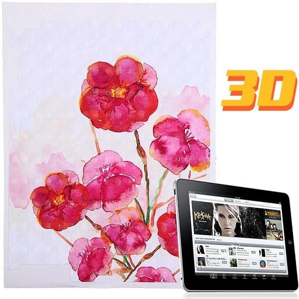 SKINS: Dekorativní samolepící tapeta pro iPad- květiny II