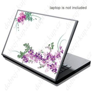 Dekorativní samolepící tapeta na notebook - Květiny