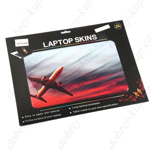 Dekorativní samolepící tapeta na notebook - Letadlo