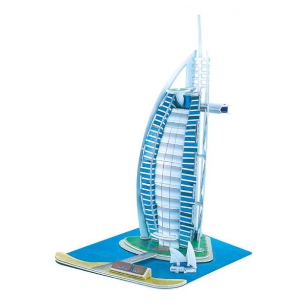 RaKonrad: Třívrstvé pěnové 3D puzzle - Burj Al Arab